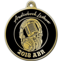 Audio Book reviewer medal