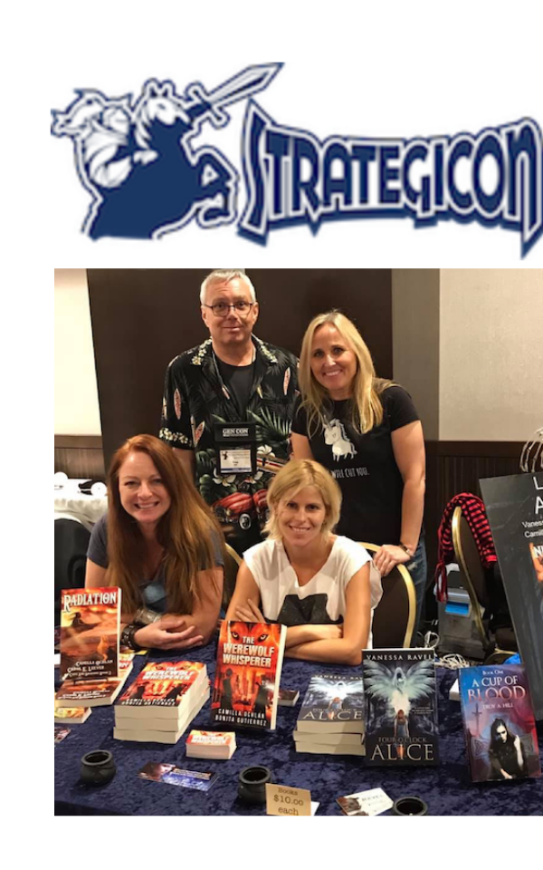 authors at convention